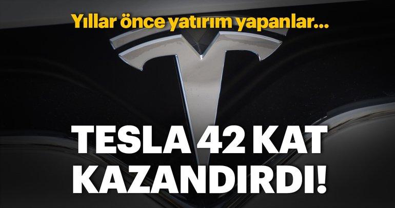 Teslaya 8 yıl önce 1.500 TL yatıranın 64 bin TLsi oldu