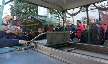 Kilyos'ta cesedine ulaşılan balıkçı son yolculuğuna uğurlandı