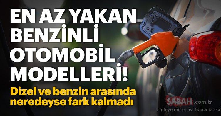 En az yakan benzinli otomobil modelleri