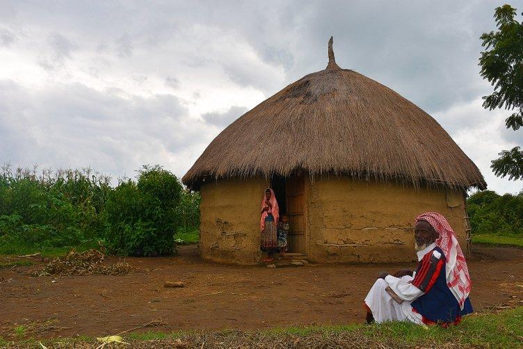 'Kabile evleri'nde ilginç yaşam