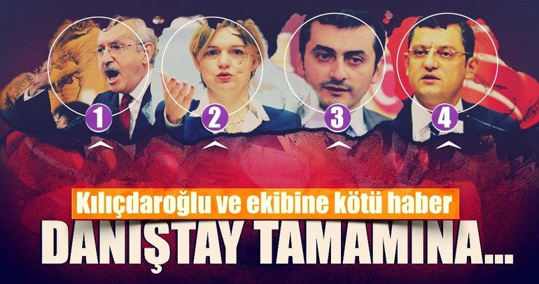 Kılıçdaroğlu ve ekibine kötü haber