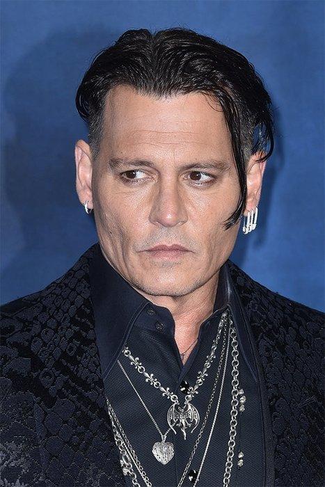 Ünlü oyuncu Johnny Depp tanınmaz halde! - Magazin Haberleri