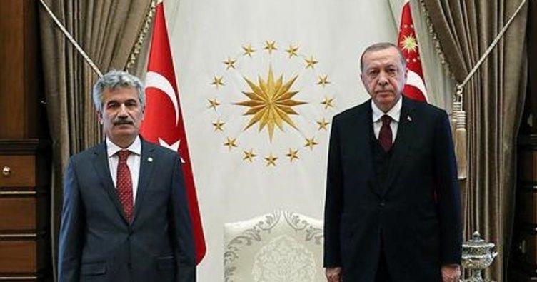 Erdoğan, Danıştay Başkanı Yiğit'i kabul etti