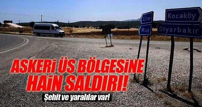 Diyarbakır'da PKK'dan alçak saldırı!