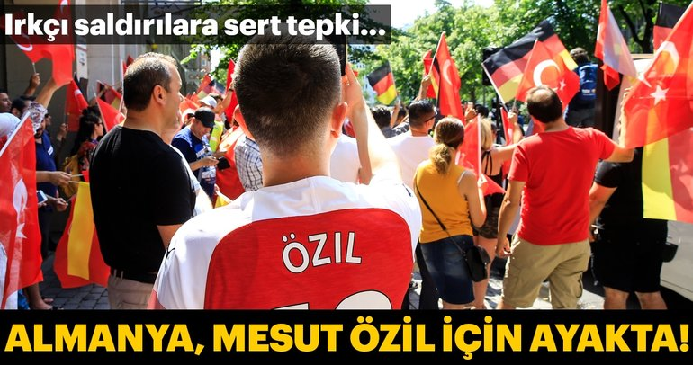 Germany Means of Mesut Özil