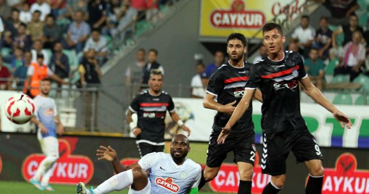 Çaykur Rizespor - Manisaspor: 4-1
