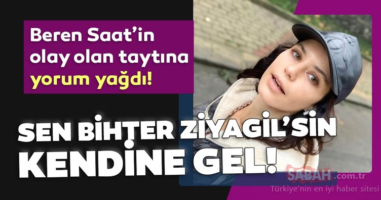 Beren Saat'i rüküş bulan hayranları acımadı Sen Bihter Ziyagil'sin kendine gel! Beren Saat'in taşlı taytı sosyal medyanın diline düştü!