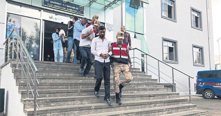 Fıstık hırsızlığından 7 kişi tutuklandı
