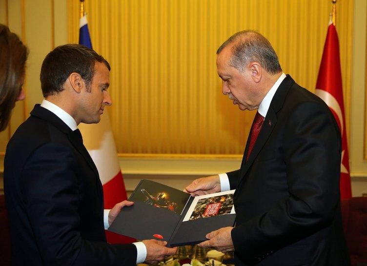 Erdoğan´ın Fransa ziyaretinde gündemde milli füze Eurosam da var
