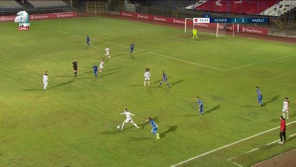 GOL | Fethiyespor 2-1 Nazilli Belediyespor