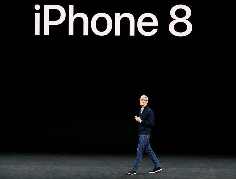Dünyanın beklediği İphone 8 tanıtıldı
