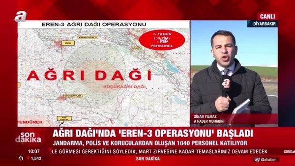 Son dakika! İçişleri Bakanlığı'nda flaş duyuru 'Eren-3 Ağrı Dağı Operasyonu başladı' | Video