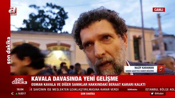Son Dakika: Mahkemeden Osman Kavala kararı! | Video
