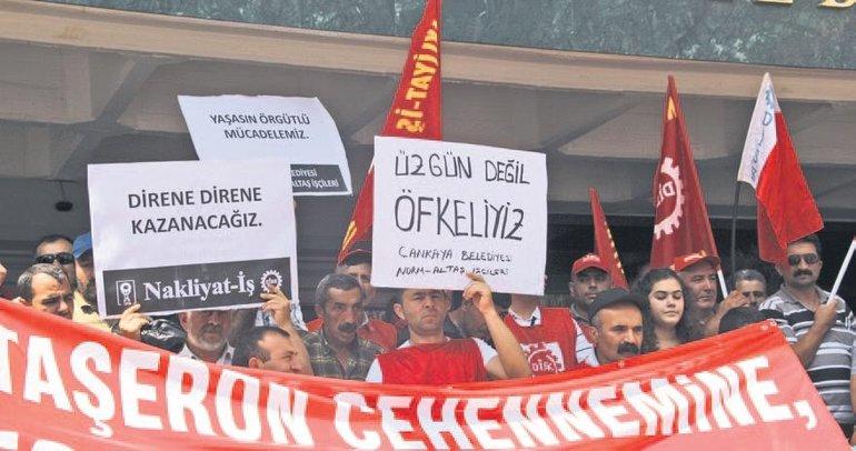 CHP'li belediyenin baskısına direniyorlar