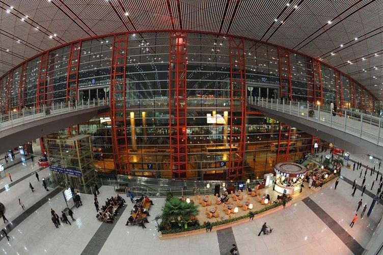 En büyük havalimanları