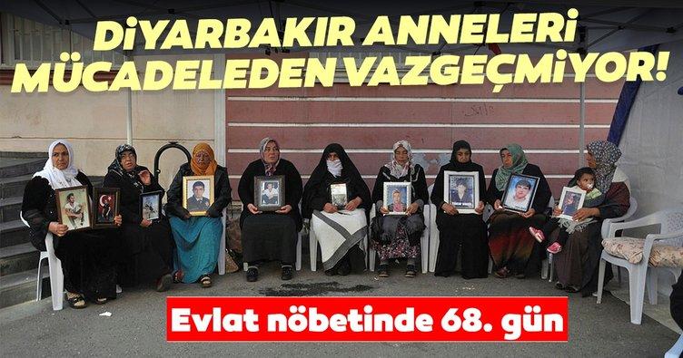 HDP önündeki eylemde 68'inci gün! Diyarbakır anneleri mücadeleden vazgeçmiyor