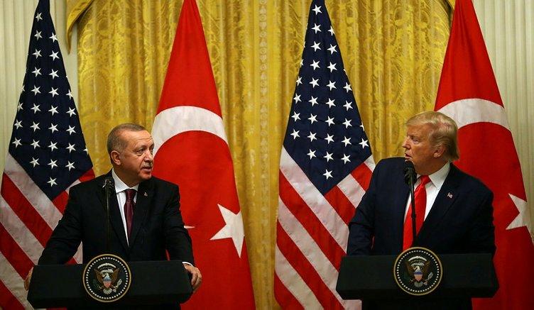 Son dakika haber: ABD Başkanı Donald Trump, görüşme sonrasında Başkan Erdoğan ile çekilmiş bu fotoğrafı paylaştı!