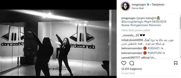 Ünlü isimlerin Instagram paylaşımları (22.03.2018)