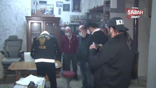 Ataşehir'de kumar oynayarak kısıtlamayı delen kişilerden pes dedirten savunma: