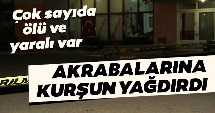 Son dakika: Kırıkkale'de dehşet! 7 akrabasını tabancayla vurdu