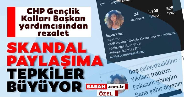 Son dakika: CHP Isparta İl Gençlik Kolları Başkan Yardımcısı İlayda Kılınç'ın skandal paylaşımına tepkiler büyüyor…