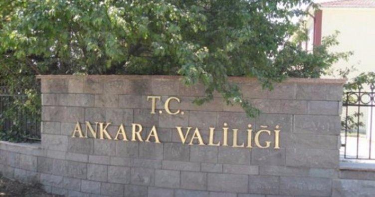 Son dakika: Ankara Valiliği'nden kritik uyarı!