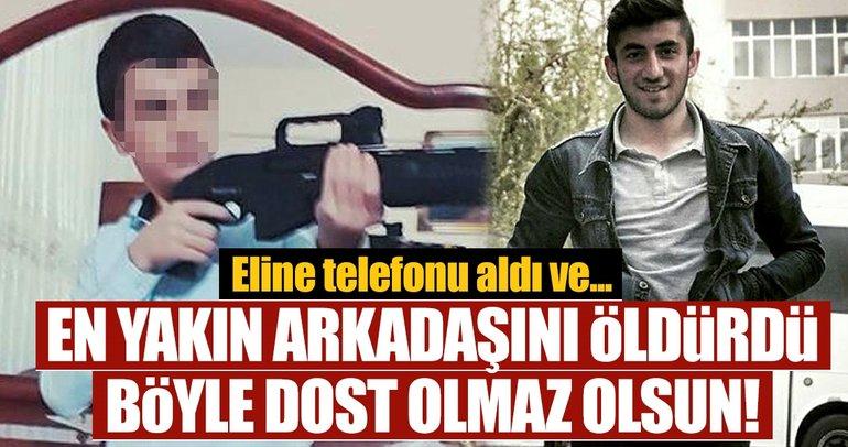 Son dakika: Erzurum'da pompalı tüfekle poz verirken arkadaşını öldürdü