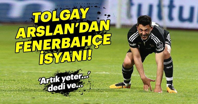 Tolgay Arslan isyan etti: 'Artık Fenerbahçe'de oynamak istiyorum'