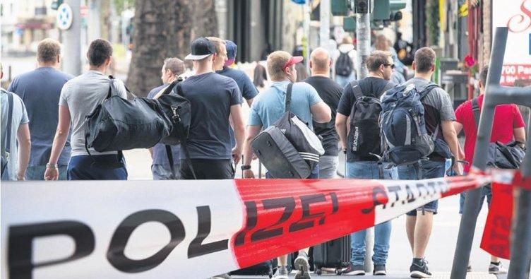 Bomba, Frankfurt'u felç etti