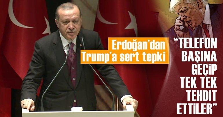 Cumhurbaşkanı Erdoğan'dan dünkü Kudüs oylaması için flaş mesajlar