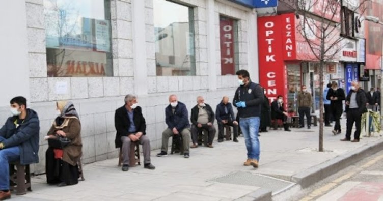 Erzurum'da çat kapı ekibi kuruldu