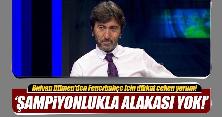 Rıdvan Dilmen'den Kayserispor-Fenerbahçe maçı için detay yorum!