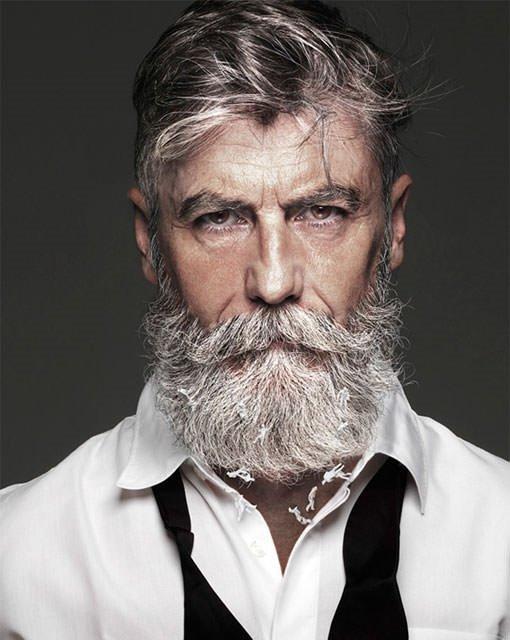 60 yaşından sonra model oldu