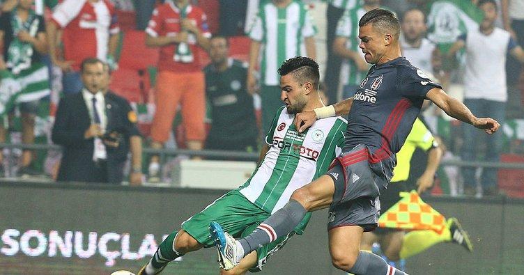 Beşiktaş: 19 - Konyaspor: 4