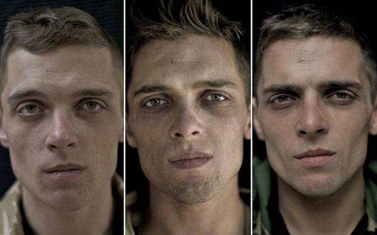 Askerden önce, askerde ve terhis fotoğrafları
