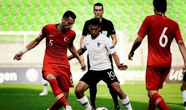 Türkiye'den, Avrupa Şampiyonası'na 5 gollü veda