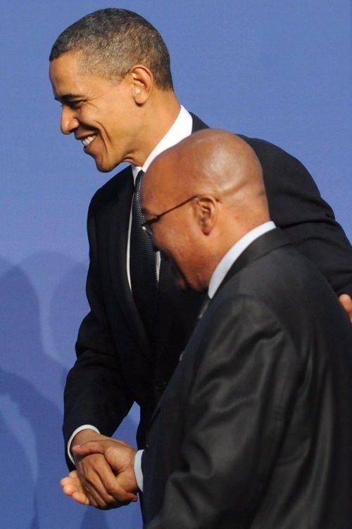 Obama kapıda karşıladı