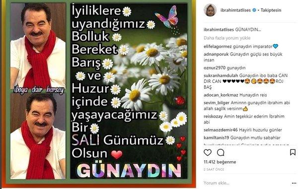 Ünlü isimlerin Instagram paylaşımları (06.03.2018)