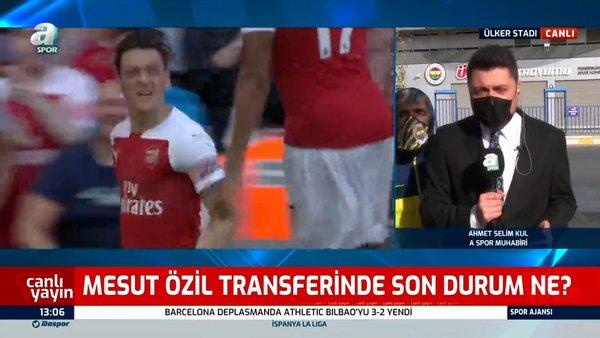 Son dakika! Fenerbahçe'nin transfer bombası Mesut Özil ne zaman geliyor? | Video