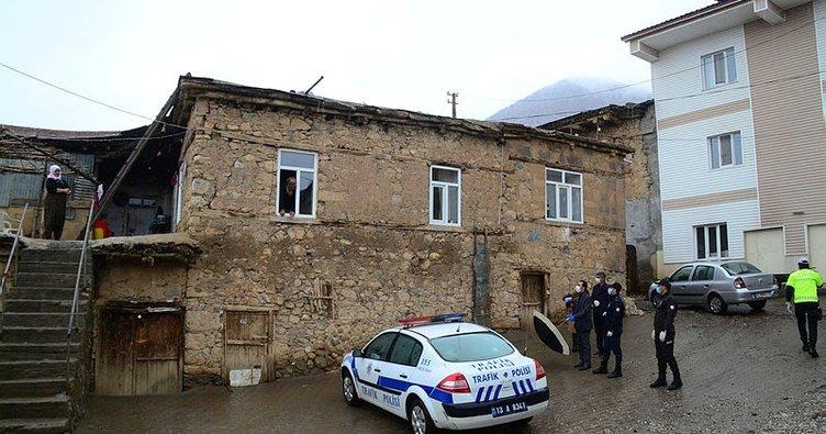 Tatvan'da bir köy coronavirüsü nedeniyle karantinaya alındı