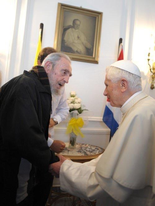 Tarihi Fidel Castro-Papa buluşması