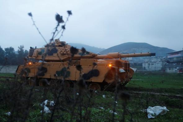 Reuters Afrin harekatını dünyaya böyle duyurdu!