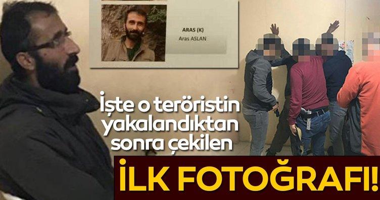 Ormanda aç kalan 'Aras' kod adlı terörist köylülerin ihbarıyla yakalandı