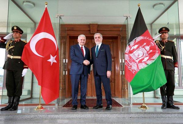 Başbakan Binali Yıldırım'ın Afganistan ziyaretinden yansıyan kareleri