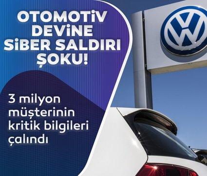 Volkswagen ve Audi hacklendi! 3 milyon müşterinin bilgileri çalındı