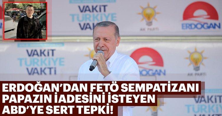 Cumhurbaşkanı Erdoğan'dan FETÖ'cü papazla ilgili flaş açıklama