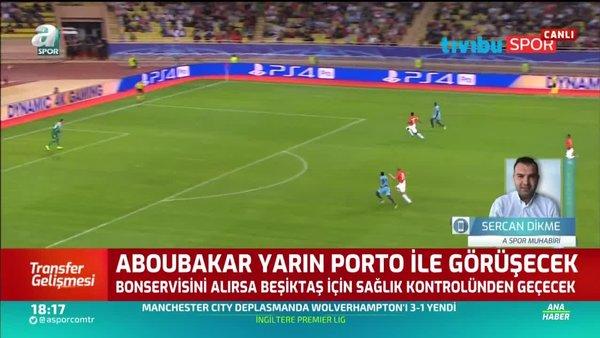 Beşiktaş'a Aboubakar müjdesi! Porto ile görüşecek