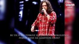 Son dakika: O Ses Türkiye 2020 şampiyonu belli oldu! İşte muhteşem performansıyla birinci Alkan Dalgakıran | Video
