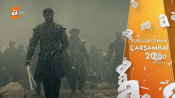 Kuruluş Osman 28. son bölümden nefes kesen fragman yayınlandı! Ertuğrul bey obaya dönüyor! | Video