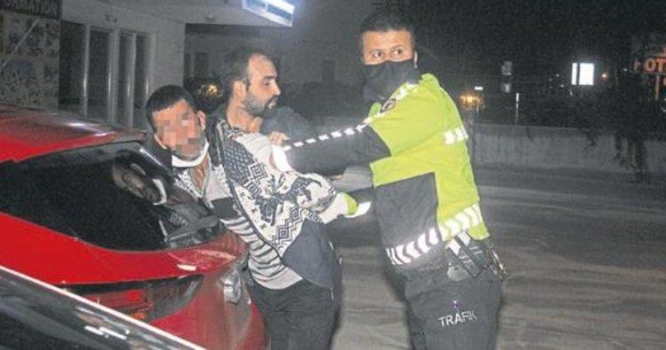 Kemer'de, tacizci polisten kaçamadı